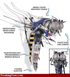 استخدم الجيش الاسرائيلي تنقية النانو تكنولوجي لصناعة سلاح عسكري فتاك على شكل وحجم ذبابة